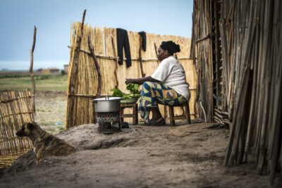 Zambia, Barotse Floodplain - November 2012. Photograph by Felix Clay.