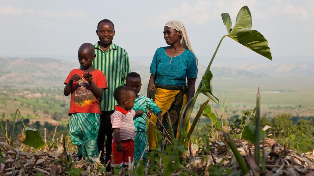 Agricultura familiar en Ruanda. Foto: CC - Fundación Gates.