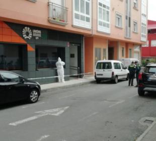 La agresión machista a Montse López se ha producido en la puerta de la sede de Unións Agrarias-UPA, donde trabaja.