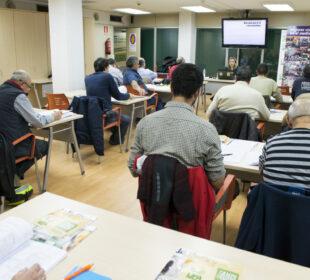 Curso de formación de agricultores.