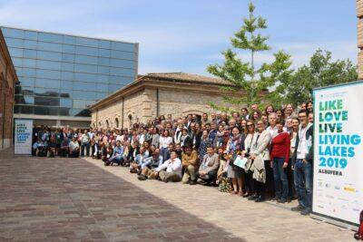 Participantes en el encuentro Living Lakes