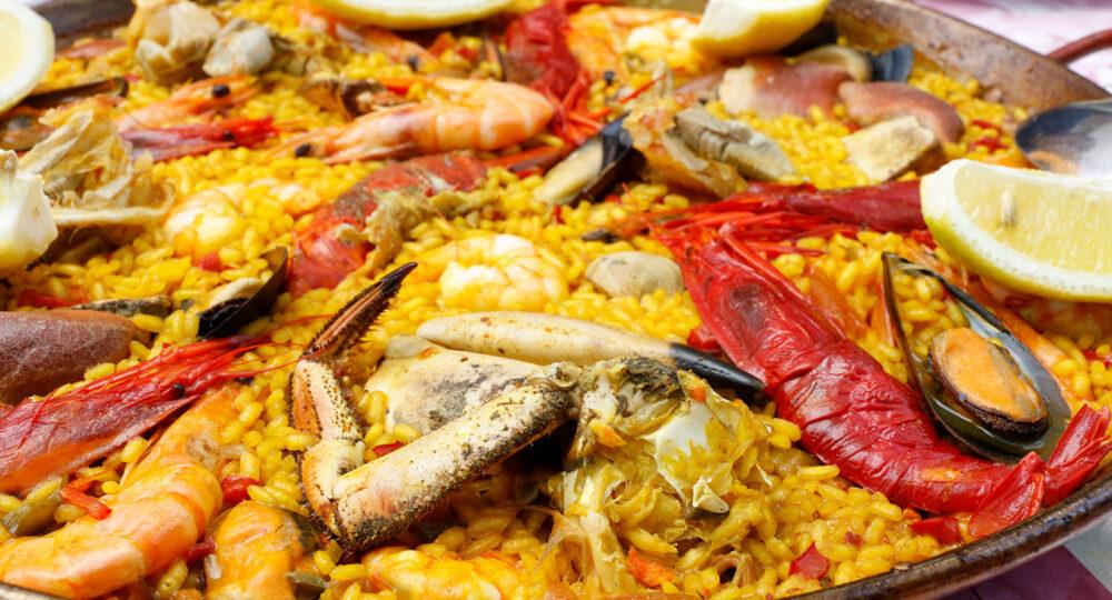 La paella es uno de los pilares de la gastronomía española