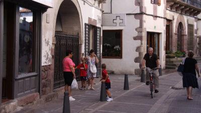 Calle de un pueblo.