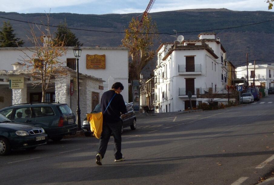 El Cartero, Capileira. Comarca de la Alpujarra (Andalucía). Foto: CC Landahlauts