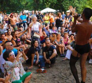Escena del festival Agrocuir. Foto: Agrocuir