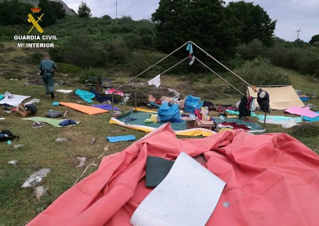 Rescates en campamentos