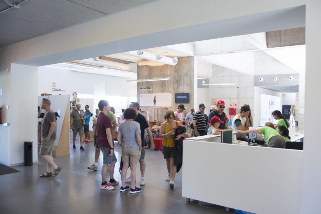 Centro de interpretación del yacimiento de Atapuerca.