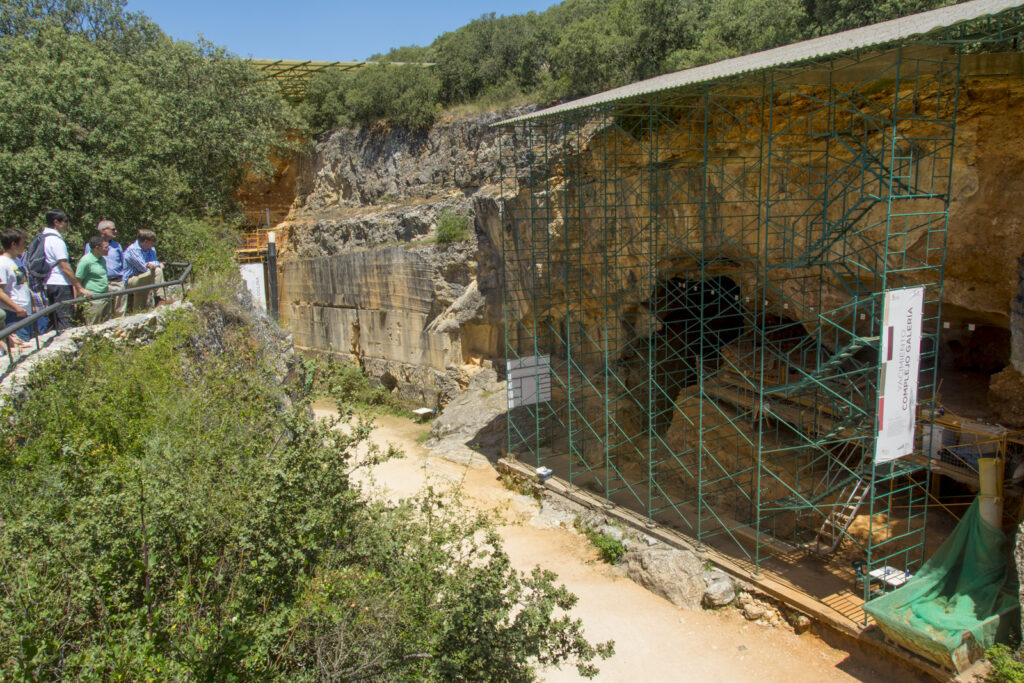 Yacimiento de Atapuerca, en Burgos.
