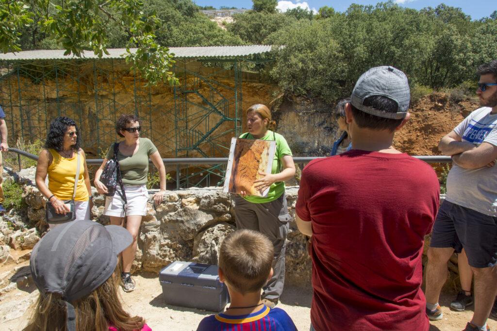 Visita guiada al yacimiento de Atapuerca.