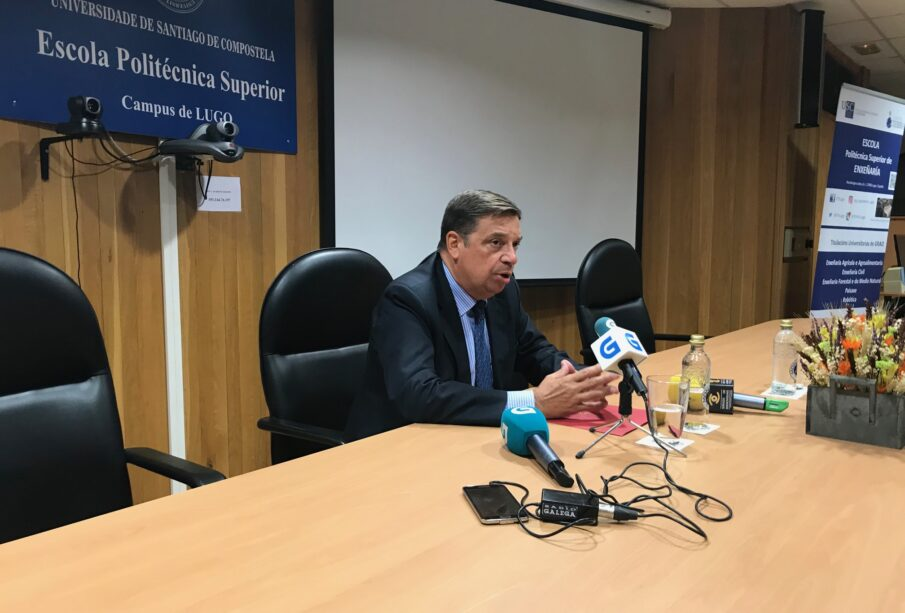 Luis Planas, en el XII Congreso de Economía Agraria. Foto: MAPA