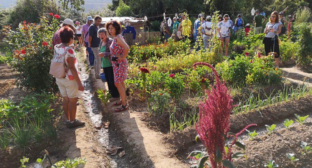 Jornada de Huertas Abiertas 2019 en Alcanadre (La Rioja)