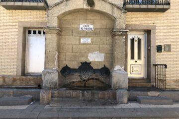 Fuente del Paradero en Paniza (Zaragoza)