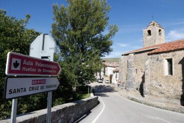 Cruce de caminos en Villar del Río (Soria). Foto: Joaquín Terán.