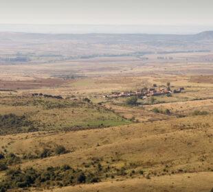 Paisaje rural en la provincia de Soria. Autor: Joaquín Terán.