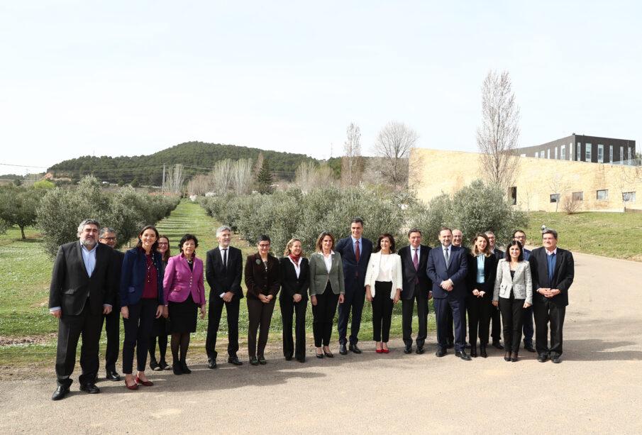 Comisión Delegada del Gobierno para el Reto Demográfico, reunida por primera vez en La Rioja. Autor: Pool Moncloa