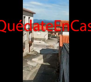 Lagunilla (Salamanca), uno de los pueblos que ha impuesto restricciones a los llegados de Madrid ante el riesgo del coronavirus.