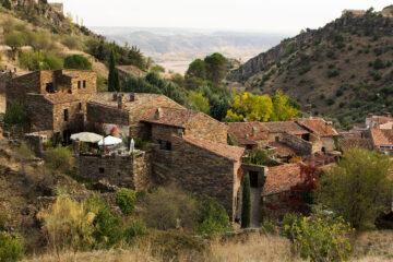 Patones de Arriba, un pueblo turístico de la Comunidad de Madrid.