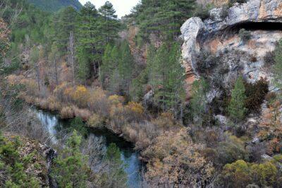 El río Tajo encajonado en el cañón que lleva su nombre. Autor: Jonathan Sayago