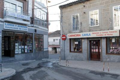 Carnicería en El Barraco (Ávila). Foto: Joaquín Terán