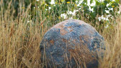 Una piedra, fotografiada por Emilio Barco