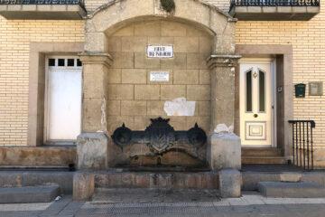 Fuente del Paradero, en Paniza (Zaragoza)