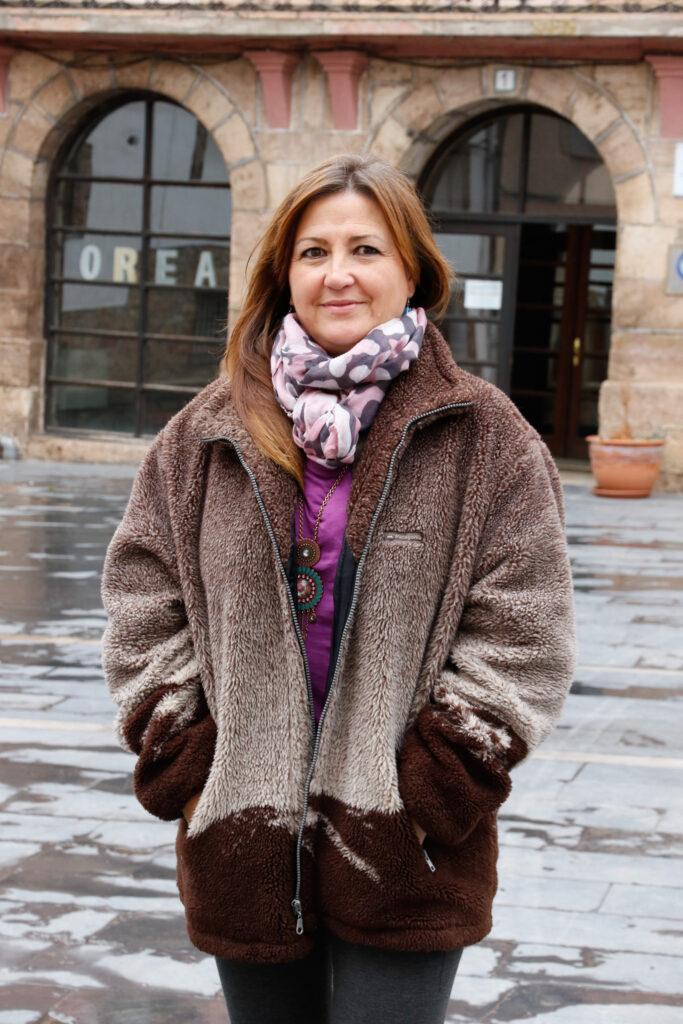 Marta Corella, alcaldesa de Orea (Guadalajara). Foto: EDR.