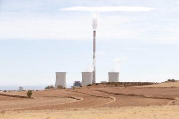 Una central térmica en Teruel.