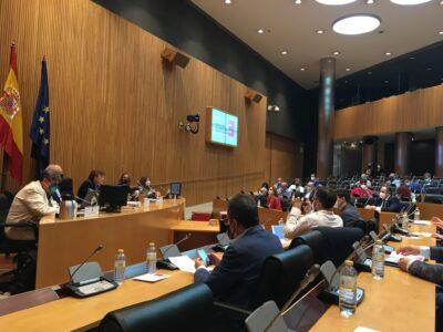 Presentación del modelo de desarrollo de la España vaciada en el Congreso de los Diputados. Foto: Twitter Sanidad Rural