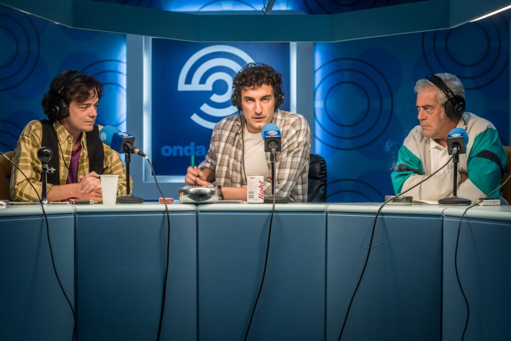Miki Esparbé en el papel de Jota, la mano derecha de 'Paco el Cóndor'. Foto: Emilio Pereda | Movistar