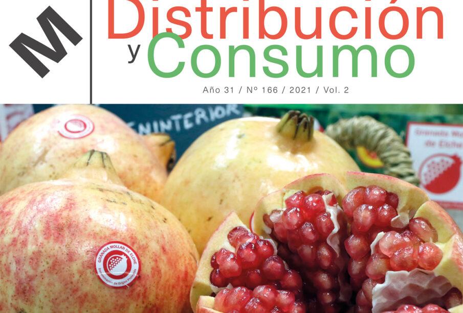 Portada del número 166 de la revista Distribución y Consumo.