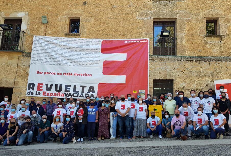 Asistentes a la III Asamblea General de la España Vaciada, este fin de semana en Priego (Cuenca)